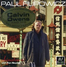 Chinatown  A CD by Paul Filipowicz, Blues Guitarist, Singer, Songwriter, Harmonica