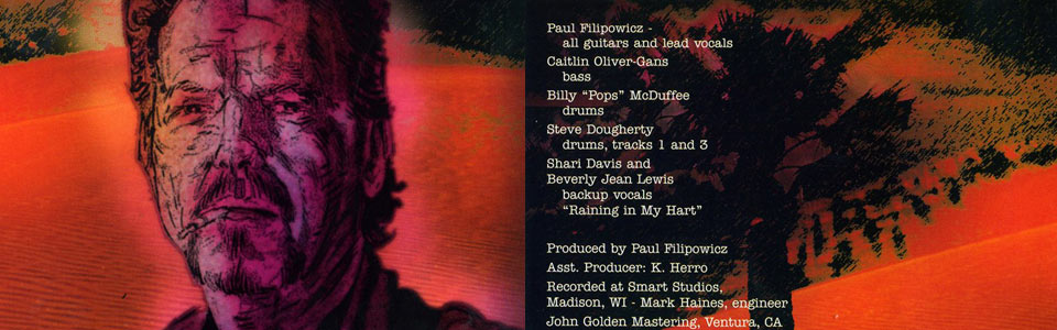 Midnight at the Nairobi Room  A CD by Paul Filipowicz Blues guitar, vocals, songwriter, harmonica, producer